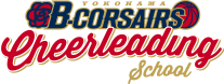 YOKOHAMA B-CORSAIRS Cheerleading School
